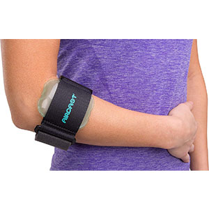 10. Aircast Pneumatic Tennis Elbow Brace