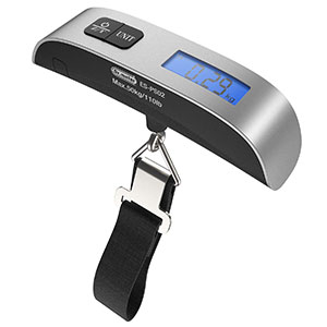 2. Dr.meter Backlight LCD Display Luggage Scale