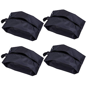 2. Misslo Nylon Travel Shoe Bag