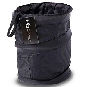 2. Zone Tech Universal Traveling Car Trash Can