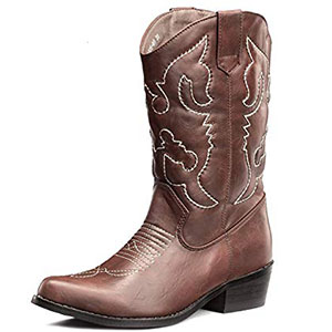 6. SheSole Women Cowboy Boot