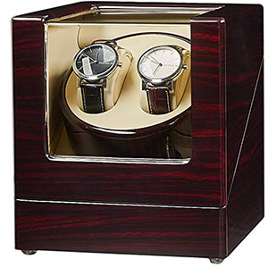 2. JQUEEN Double Watch Winder