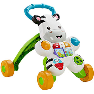 3. Fisher-Price Zebra Baby Walking Toy