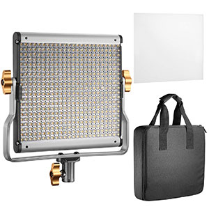 5. Neewer 3200-5600K LED with U Bracket Professional Video Light