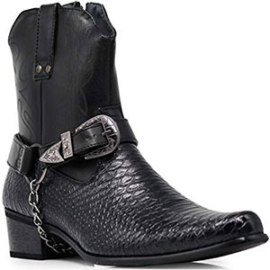 5. Alberto Fellini Comfortable Men Cowboy Boot