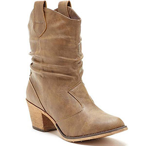 5. Charles Albert Women Cowboy Boot