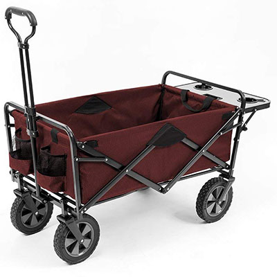 11. Mac Sports Collapsible Outdoor Utility Wagon