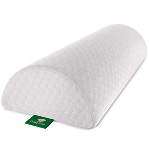 8. Cushy Form Half-Moon Bolster/Wedge