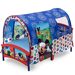 8. Delta Children Toddler Tent Bed
