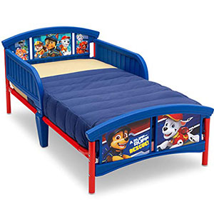 2. Nickelodeon Delta Children Plastic Toddler Bed