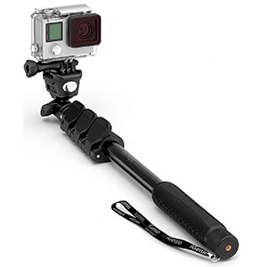 6. Selfie World Professional 10-in-1 GoPro Monopod