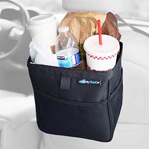 5. MyTidyCar Car Trash Can