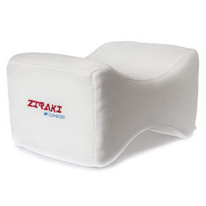 9. ZIRAKI Memory Foam Wedge Knee Pillow