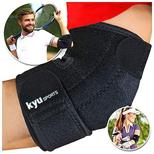 8. KYUSport Tennis Elbow Brace