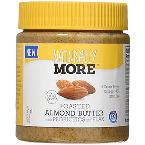 10. Naturally More Probiotics Almond Butter