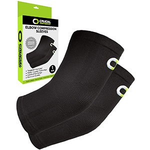 9. Crucial Compression Tennis Elbow Brace