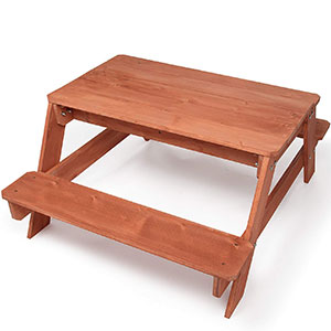 10. Svan All-In-One Kid Picnic Table
