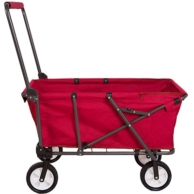 15. REDCAMP Folding Utility Wagon