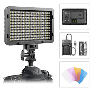 7. ESDDI 176 LED Video Light