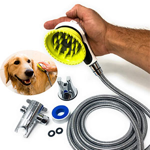 5. Wondurdog All-in-One Dog Shower Kit