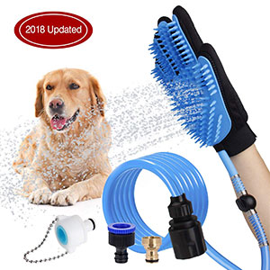 6. WOWGO 2019 Pet Bathing Tool Dog Shower