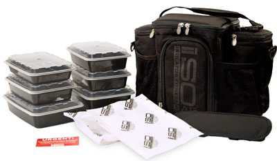 10. Isolator Fitness 3 Meal ISOBAG Meal Prep Lunch Bag