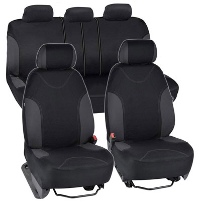 10. BDK OS-334-CC Car Seat Covers (9pc Set)