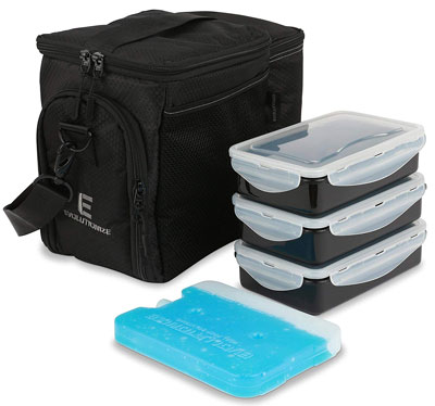 3. EDC Meal Prep Bag by Evolutionize