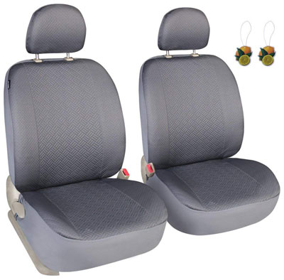 9. Leader Accessories Front Car Seat Covers, Set of 2