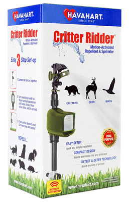 9. Havahart 5277 Animal Motion-Activated Sprinkler and Repellent