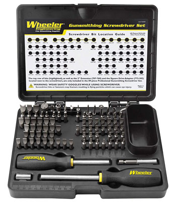 4. Wheeler Deluxe 89-Piece Screwdriver Set