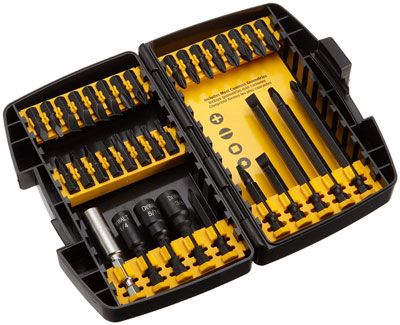 9. Dewalt DW2153 34-Piece Accessory Set