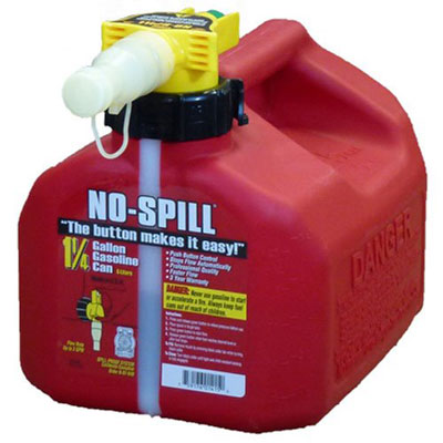 4. No-Spill Carb Compliant Poly Gas Can