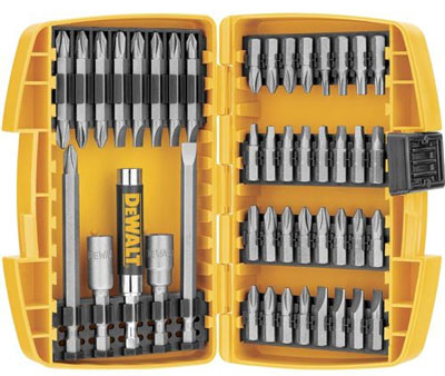 1. Dewalt DW2166 Screwdriving Set