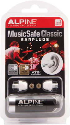 7. Alpine Hearing MusicSafe Musicians Earplugs