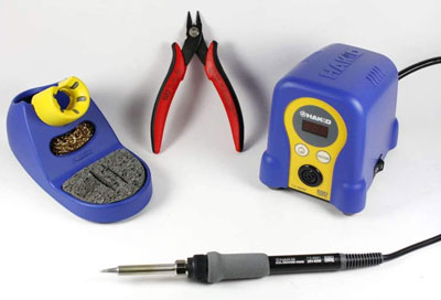 6. Hakko Soldering Station and CHP170 cutter