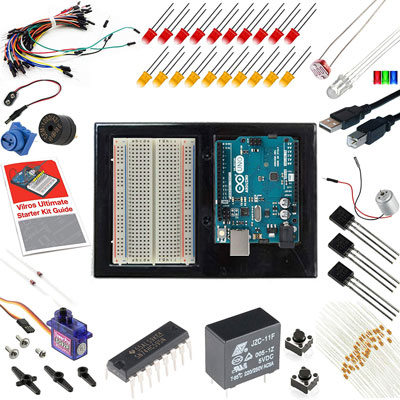 5. Vilros Ultimate UNO Arduino Starter Kit