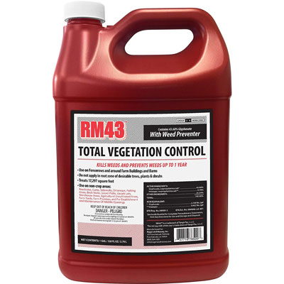 5. RM43 Glyphosate Plus Vegetation Control Weed Preventer