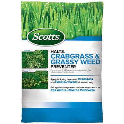 2. Scotts Grassy Weed and Crabgrass Preventer