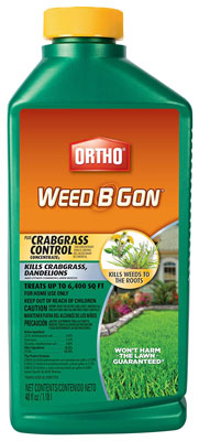 1. Ortho 40-Oz Concentrated Plus Crabgrass Killer