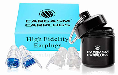 2. Eargasm Sensitivity High Fidelity Musician Earplugs