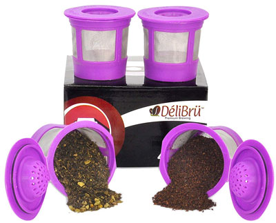 3. DeliBru Refillable Universal Reusable K Cup