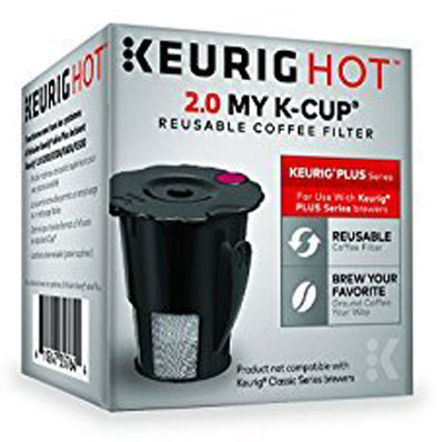 8. Keurig Reusable 2.0 Ground Coffee K Cup