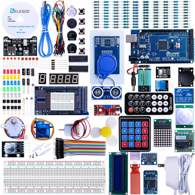 8. Elegoo Mega2560 Ultimate Arduino Starter Kit