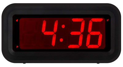 5. Kwanwa Digital LED Alarm Clock