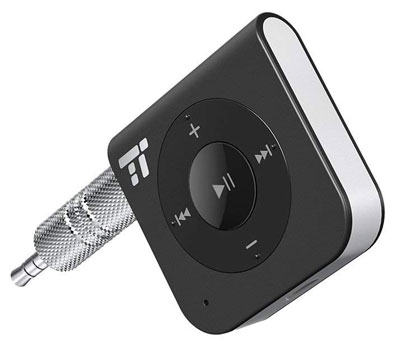 2. TaoTronics 3.5mm AUX Wireless Portable Bluetooth Receiver