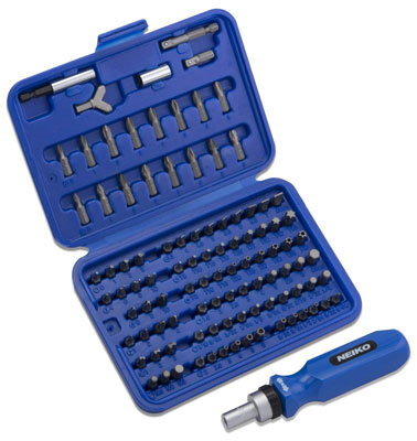 10. Neiko 10082A Security Screwdriver Bit Set