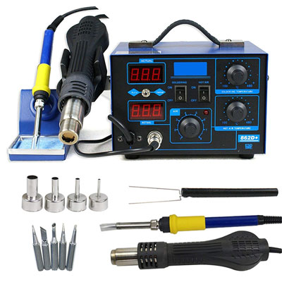 10. F2C 2in1 862d+ SMD Soldering Station