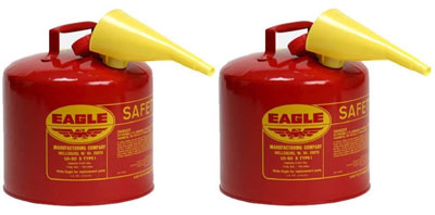 3. Eagle UI-50-FS Galvanized Gas Can