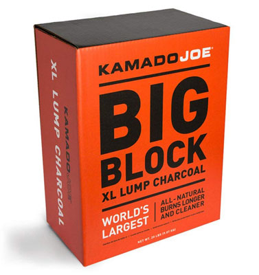 2. KamadoJoe 20 Pound Big Block Charcoal Box
